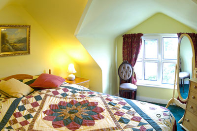 Fanad suite bedroom accommodation