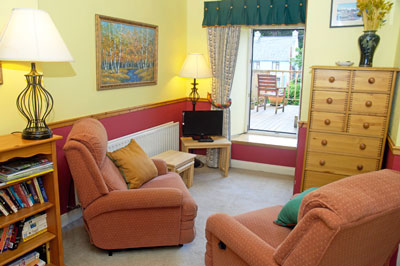 Fanad suite living room accommodation