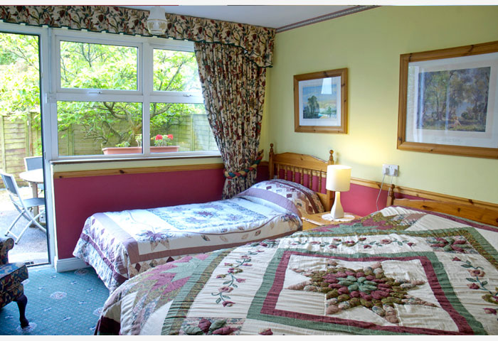 Inishowen suite bedroom accommodation