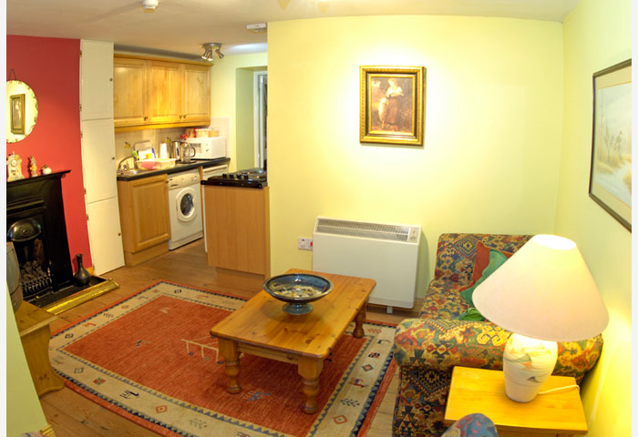 Inishowen suite living room accommodation