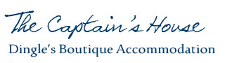 The Captain's Townhouse Dingle's boutique accommodation logo